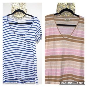 Madewell • Striped T-Shirt bundle • small